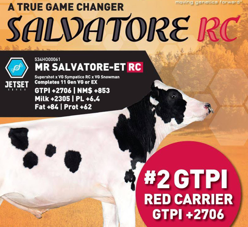 Salvatore #2 GTPI Red Carrier +2706